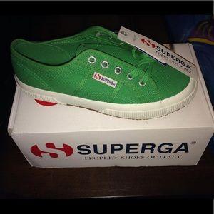 New Superga Green Tennis Shoes 7m